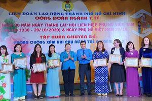 TPHCM: Tuyên dương 112 phụ nữ tiêu biểu ngành Y tế