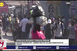 900 tù nhân vượt ngục ở CHDC Congo