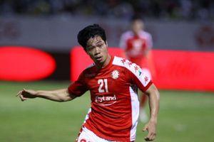 Không có Công Phượng, CLB TP.HCM đá kém hơn cả đội cuối bảng V-League