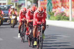 Giải xe đạp VTV - Cúp Tôn Hoa Sen 2020 điều chỉnh lộ trình vì mưa bão