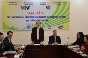 Lễ trao Giải thưởng sáng tạo khoa học công nghệ Việt Nam sẽ diễn ra tại Hà Nội