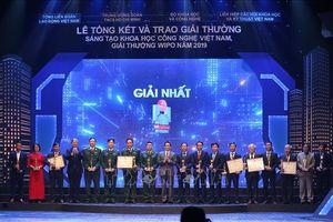 40 công trình được trao Giải thưởng sáng tạo khoa học công nghệ Việt Nam năm 2019