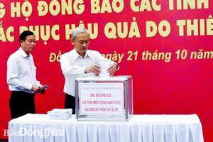 Đồng Nai phát động ủng hộ đồng bào miền Trung bị lũ lụt