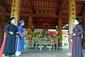 Thanh Hóa: Về thăm đền thờ Chiêu Văn Vương Trần Nhật Duật, nghe hát nhà trò Văn Trinh