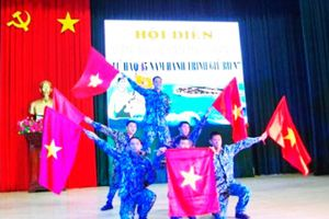 Lữ đoàn 146 Hải quân: Hội diễn văn nghệ quần chúng năm 2020