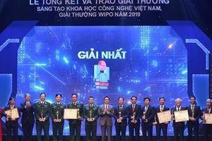 Vinh danh trao giải các nhà khoa học sáng tạo Việt Nam