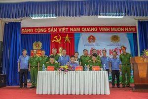 VKSND tỉnh Đắk Lắk ký kết quy chế phối hợp với Trại giam Đắk Tân, Đắk Trung
