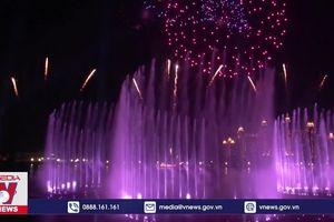 Dubai lập kỷ lục đài phun nước lớn nhất thế giới