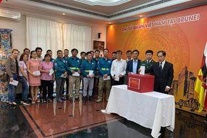 Đại sứ quán Việt Nam tại Brunei, Canada phát động ủng hộ đồng bào miền Trung