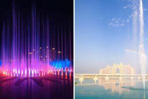 Công trình The Palm Fountain ở Dubai lập kỷ lục Guiness về đài phun nước lớn nhất thế giới