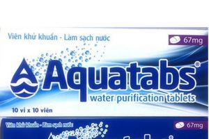 Thủ tướng cấp 6,7 triệu viên sát khuẩn nước các tỉnh vùng lũ