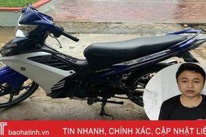 Công an Thạch Hà bắt đối tượng trộm xe máy chuyên nghiệp