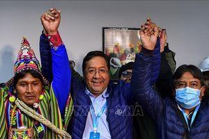 Bolivia: Kết quả kiểm phiếu cuối cùng khẳng định chiến thắng của ứng viên tổng thống đảng MAS