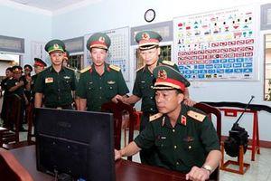 Hiệu quả từ xây dựng đơn vị điểm về công tác kỹ thuật công binh