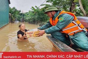 Nghe cán bộ, chiến sỹ Hà Tĩnh kể chuyện ứng cứu người dân trong lũ dữ