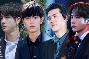 Top 50 gương mặt đẹp trai nhất châu Á 2020 tháng 9: Tiêu Chiến - Sehun dẫn đầu, Vương Nhất Bác - Jin (BTS) theo sau