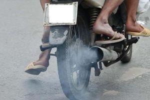 Xe máy cũ trước và sau bảo dưỡng làm tăng phát thải chất độc hại ở TP.HCM, Hà Nội ra sao?