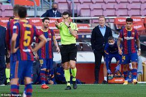 Cha trọng tài bắt El Clasico là fan Real Madrid, Barca kiện