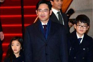 Hai người con của 'thái tử Samsung'