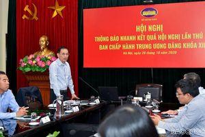 Bộ Ngoại giao tổ chức Hội nghị báo cáo nhanh kết quả Hội nghị lần thứ 13 khóa XII