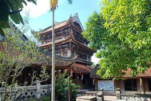 Khai hội ngôi chùa cổ có gác chuông bằng gỗ cao nhất Việt Nam
