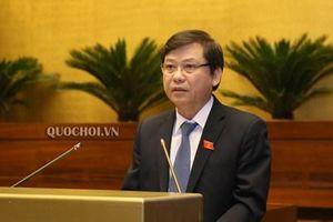 Viện trưởng Lê Minh Trí giải đáp thỏa đáng các câu hỏi của đại biểu Quốc hội