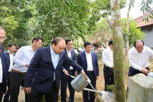 Thủ tướng Nguyễn Xuân Phúc dâng hương tri ân công đức Đức Quốc Tổ Lạc Long Quân