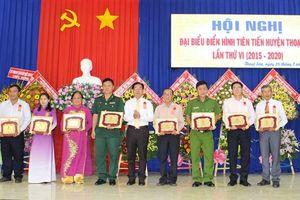 Dân vận khéo ở huyện Thoại Sơn