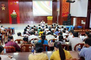 Tịnh Biên: Tập huấn công tác dân vận tham gia xây dựng nông thôn mới