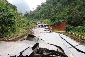 Quảng Bình: Khẩn trương khắc phục các tuyến đường bị hư hỏng