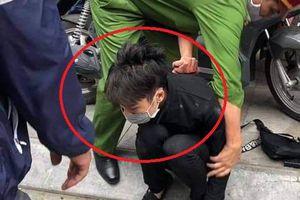 Bắt nghi phạm cướp tiệm vàng ở Hà Nội