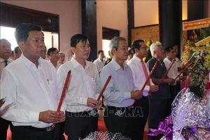 Dâng hương tưởng niệm 152 năm ngày hy sinh của Anh hùng dân tộc Nguyễn Trung Trực