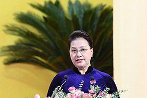 Chủ tịch Quốc hội Nguyễn Thị Kim Ngân dự và chỉ đạo Đại hội Đảng bộ tỉnh Thanh Hóa