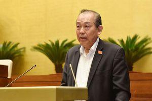 Phó Thủ tướng Trương Hòa Bình: Không có vùng cấm, nhưng đảm bảo đúng người, đúng tội