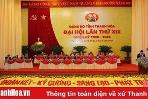 Thông cáo báo chí phiên làm việc chiều 27 - 10 - 2020, Đại hội đại biểu Đảng bộ tỉnh Thanh Hóa lần thứ XIX