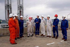Công ty lọc hóa dầu Bình Sơn (BSR) khẩn trương phòng, chống bão số 9