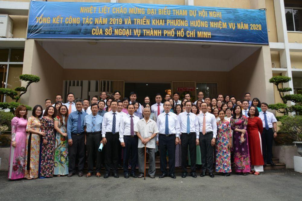 Sở Ngoại vụ TP Hồ Chí Minh: Nhớ lại
