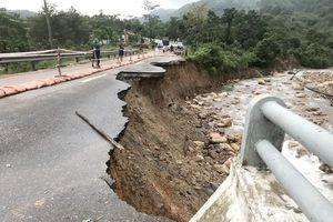 Vùng nào có nguy cơ xảy ra sạt lở đất do bão số 9?