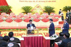 65 đồng chí tham gia Ban chấp hành Đảng bộ tỉnh Thanh Hóa nhiệm kỳ 2020-2025