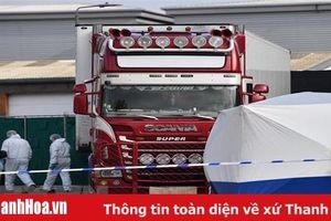 Tình tiết mới trong vụ 39 người Việt chết trong xe container ở Anh