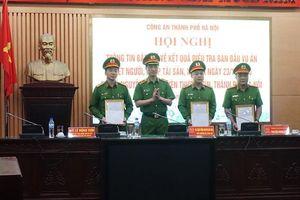 Bộ Công an và Thành phố Hà Nội khen thưởng chiến công xuất sắc của Công an Thủ đô