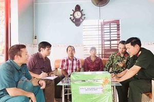 Lực lượng vũ trang tỉnh Bình Định kiên quyết không để cho dân đói, rét sau bão