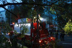 Công an TP Đà Nẵng: Dồn toàn lực giúp dân khắc phục thiệt hại do bão số 9 gây ra