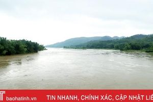Lũ trên các sông lớn ở Hà Tĩnh lên nhanh, nguy cơ ngập úng vùng trũng thấp, đô thị