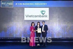Vietcombank tiếp tục là ngân hàng có môi trường làm việc tốt nhất Việt Nam