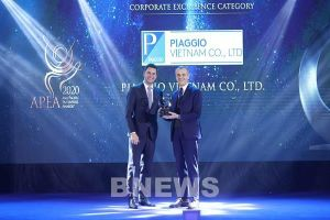 Piaggio Việt Nam được vinh danh tại hai giải thưởng châu Á 2020