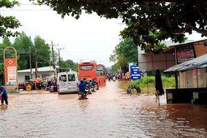 HUYỆN XUYÊN MỘC: Mưa lớn gây ngập, một số tuyến đường bị hư hỏng