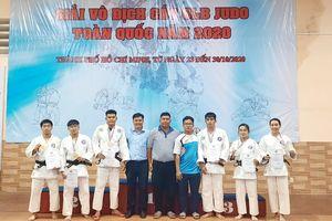 Giải vô địch các CLB judo toàn quốc 2020: Đồng Nai 1 xếp hạng 4 toàn đoàn
