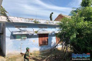 Hàng chục cơ sở y tế ở Quảng Ngãi chịu thiệt hại lớn sau bão