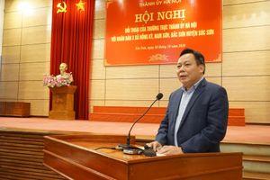 Thường trực Thành ủy đối thoại với người dân quanh khu xử lý rác Nam Sơn: Vướng mắc sẽ sớm được giải quyết triệt để